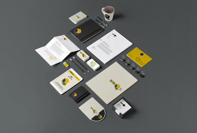 WIB schede web stationery